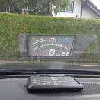 Head up Display hat er auch bekommen