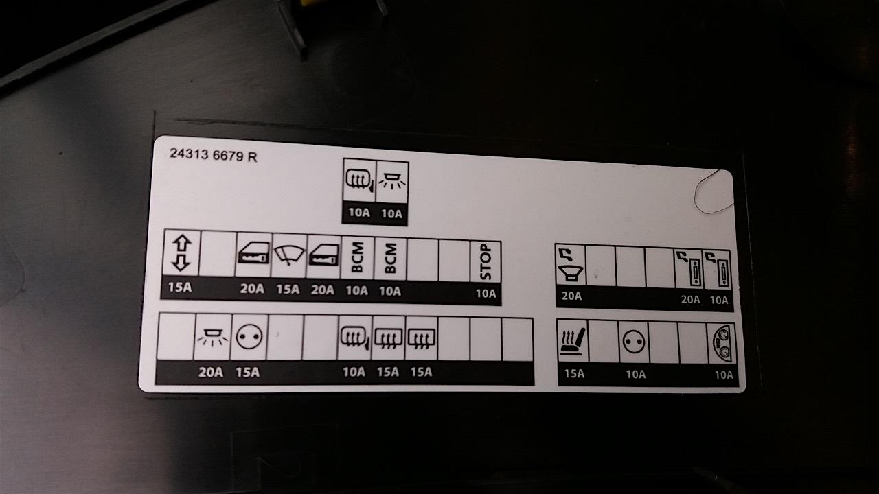 Fahrerseite Plan