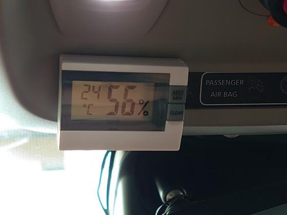 Innentemperatur und Feuchtigkeitsmesser