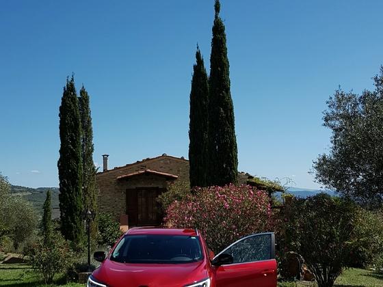Ein roter Franzose in der Toskana 2