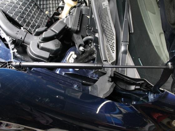 Dämpfer Motorhaube rechts