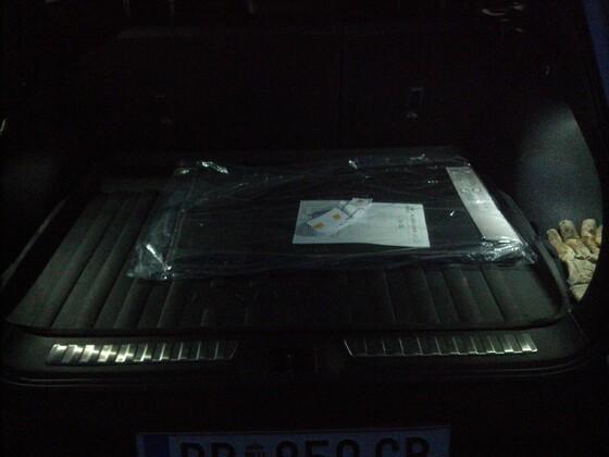 zweite Kofferraumleuchte :)
