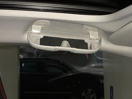 Brillenhalter Nachrüstung
