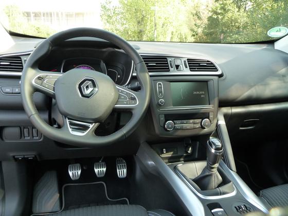 Kadjar im Detail - Innenraum Fahrerseite / Sportpedale