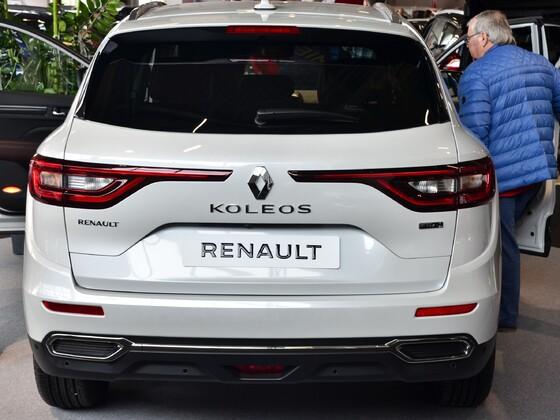 neuer Koleos - Automesse Salzburg