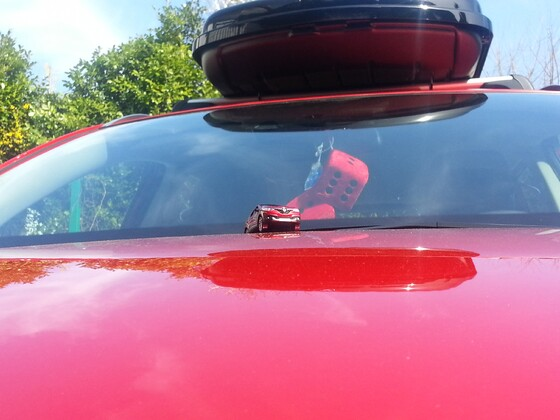Da läßt man 1x seinen Wagen alleine ins Autokino......