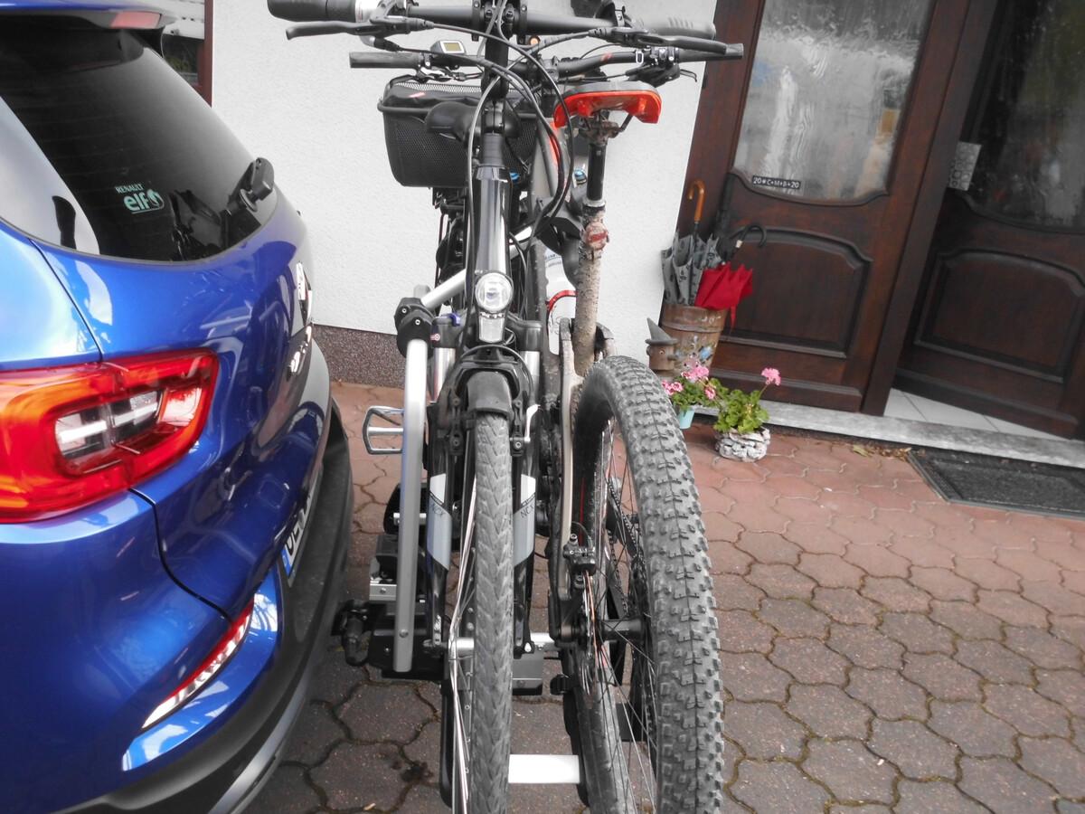Fahrradträger und Schwenkbare AHK