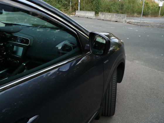 Kadjar im Detail - Außenspiegel ausgeklappt