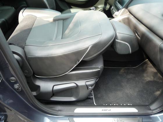 Kadjar im Detail - Beifahrersitz umklappbar & höhenverstellbar