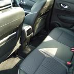 Kadjar im Detail - Rücksitzbank / Fußraum hinten (Beinfreiheit)
