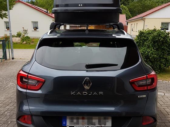 Kadjar mit 580L Dachbox