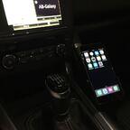 ... Brodit Handyhalter auf Griff montiert by AdamP ;-)