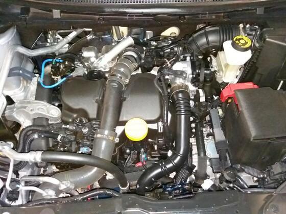 Motorraum Kadjar 1.5Dci EDC ohne Akkustikabdeckung