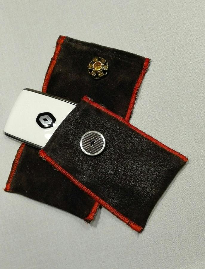 Kadjar Tasche und Huawei Tasche in Leder